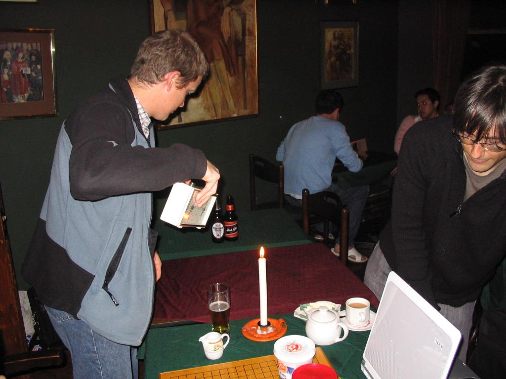 2006 WC Meijin Title Game 1 - pic1